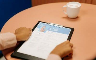Lebensläufe merken als Übung im Test für Verwaltungsfachangestellte